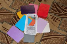 Телефон для карточек 100 цветов