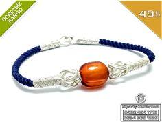 Kehribar Taşlı(Amber = Pozitif Enerji Sağlar) 1000 Ayar El işi Gümüş Kazaziye Bay-Bayan Bileklik 16