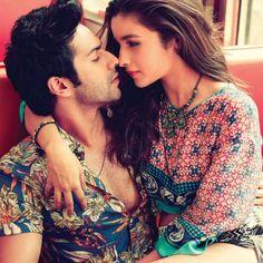 Varun Dhawan and Alia Bhatt  #FilmFare #Photoshoot #Bollywood #Fashion #Style #VarunDhawan #AliaBhatt
