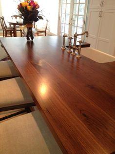 Wood Countertops On Pinterest Wooden Kitchen Countertops Wood Kitchen Coun