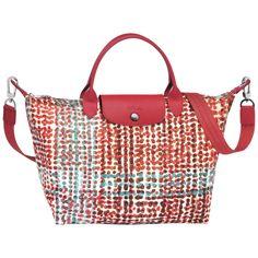 LONGCHAMP LE PLIAGE NÉO FANTAISIE - POLKA BURNT RED - LONGCHAMP #longchamp #bags #fashion #lifestyle #spring #ss18 #lepliage