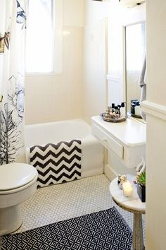 6 Rental Updates That Wonu0027t Piss Off Your Landlord. Apartment Bathroom  DecoratingRental ...