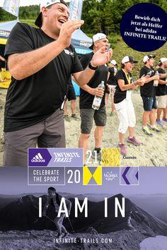 Sei dabei! Bewirb dich als Volunteer / Helfer für einen einzigartigen Trailrunning Event von 24. bis 26. September 2021! Gleich Formular ausfüllen und live dabei sein beim adidas INFINITE TRAILS 2021! Helfer, Adidas, Infinite, September, Events, Live, Outdoor, Volunteers, Athlete