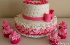 Bolo Bailarina Cupcake Bailarina