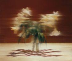 Lis [Lilien], 2000, huile sur toile_gerhard-richter