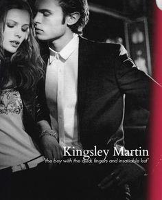 Kingsley Martin <3 She had forgotten what he was really like.... Blue Bloods Melissa de la Cruz