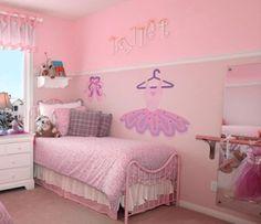 Ballerina theme bedroom