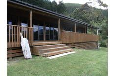 Check out this property Marlborough Sounds, Deck, Real Estate, Luxury, Outdoor Decor, Home Decor, Decoration Home, Room Decor, Front Porches