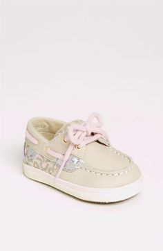 Leopard print Baby girl Sperrys.. so damn cute