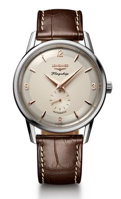 TimeZone : Industry News » N E W M o d e l - Longines Flagship Heritage 60th Anniversary