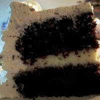 Chocolate Cake with Crispy Crunch Icing by Cindy Morrison