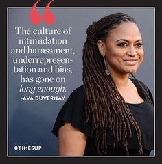"""If #MeToo was a reckoning forcing sexual abusers to be tried in the court of public opinion then @TimesUpNow its newly announced sister initiative is about channeling that awareness into action. """"It's an actionable title. Its one that also kind of throws down a gauntlet. It has a bit of swagger which this group certainly does not in a way of spectacle but in a way of having real intention to enact change says director @Ava one of the 300 women in Hollywood who stood together to announce…"""
