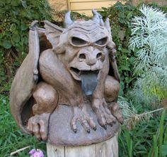 Salvatorie Pottery Sculpture, Garden Sculpture, Outdoor Decor