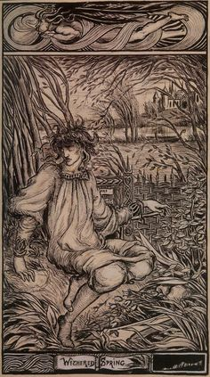 Withered Spring - Aubrey Beardsley