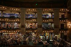 El Ateno Grand Splendid Bookstore – Interior – 1 (Buenos Aires, Argentina), photographed by Stephen J. Danko on 03 Jan 2011.