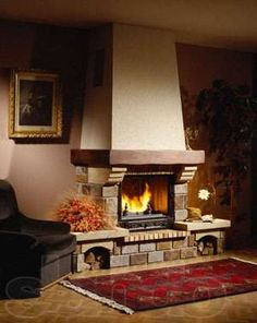 Камины Славянск - изображение 1 Stove Fireplace, Stoves, Fireplaces, Room, House, Home Decor, Fireplace Set, Ideas, Xmas