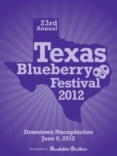 Texas Blueberry Festival in Nacogdoches, TX
