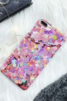 Glitter iPhone 6, iPhone 6 Plus, iPhone 7, iPhone 7 Plus, iPhone 8, iPhone 8 Plus,iPhone X protective  Case For cute girl #iphone8case,