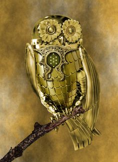 Just because I adore owls and I find the whole steampunk thing pretty neat too. ~Charlotte (PixieWinksAndFairyWhispers)