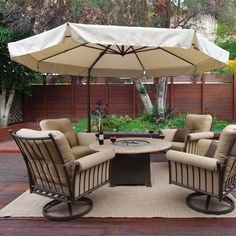 on sale bali pro 10u0027 square rotating cantilever umbrella with lights - Large Patio Umbrellas