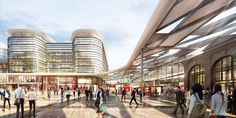 Foster   Partners picked to design an exciting new transport hub in Wales | Inhabitat - Sustainable Design Innovation, Eco Architecture, Green Building