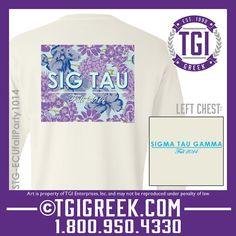 TGI Greek - Sigma Tau Gamma - Sorority Recruitment - Comfort Colors - Greek T-shirts #tgigreek #sigmataugamma