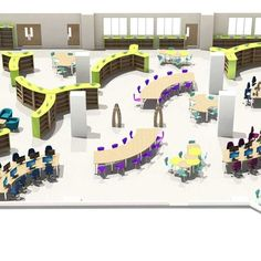 Library Design Service Home Library Design, Library Shelves, Shelving Systems, Free Library, 3d Visualization, Ivoire, Design Consultant, New Builds, Elementary Schools