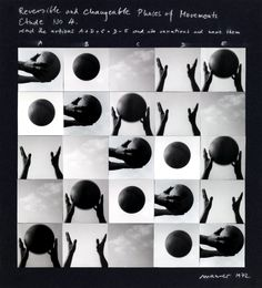 Dóra Maurer, Reversible and Changeable Phases of Movement, Study No. 4, 1972