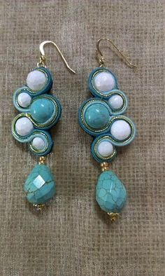Soutache Earrings by Tinuviel Bijoux Creations