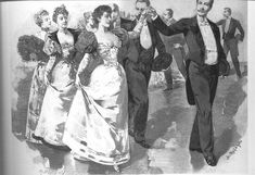 """Victorian Dancing Etiquette – Kristin Holt 