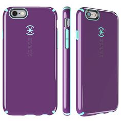CandyShell iPhone 6s & iPhone 6 Cases - Acai Purple/Aloe Green