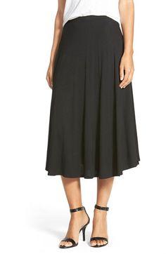 Bobeau Print Midi Skirt available at #Nordstrom