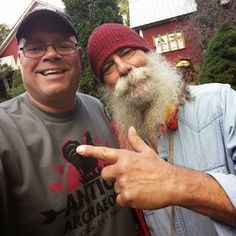 Antique Archaeology shirt spotted up at Serendipity Farms with Hippie Tom! We love you man!