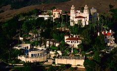 The 115-room Hearst Castle in San Simeon, California, was inspired by a Spanish cathedral and is set on 250,000 acres with 13 miles of coastline. (From: Photos: 12 Amazing Castles You Won't Believe Are in America)