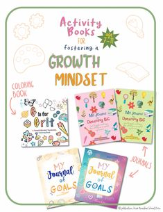 Helping your kids become self-reliant, confident and independent thinkers is one of the best gifts you can give them. Shop our selection of Growth Mindset publications for journals and coloring books that will teach children essential life-skills such as grit and resilience for positive attitude and success. #growthmindset #growthmindsetactivities #positivethinking #confidentkid #grit #resilience Growth Mindset Book, Growth Mindset Activities, Book Activities, Activity Books, My Journal, Upper Elementary, Positive Attitude, Life Skills, Teaching Kids