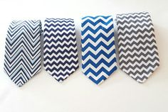 Etsy listing at https://www.etsy.com/listing/274882822/chevron-collection-boys-clip-on-necktie