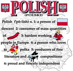 I gave Grandpa this shirt just before he passed on. I took it from his closet… Polish Words, Polish Sayings, Learn Polish, Poland Food, Polish Language, Visit Poland, My Roots, Polish Recipes, Polish Pottery