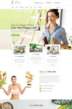 Nutritia is multipurpose WordPress theme for nutritionist, diet and healthy food website. The theme can optionally be used for health coach, vegan recipes and