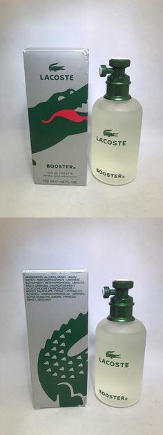 dfa66f2800a Men Fragrance  Booster By Lacoste For Men Eau De Toilette 4.2 Oz 125 Ml  Spray