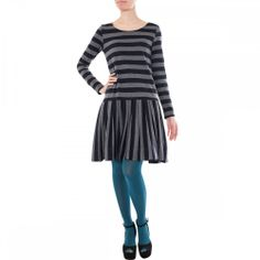 jersey cotton dress | ... clothing dresses simple cotton jersey dropped waist dress navy grey