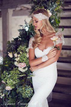 Anna Campbell Neuste Schöne Spitze Hochzeitskleider Kollektion – Forever…