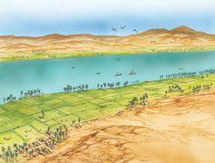 Farming in ancient Egypt - Q-files Encyclopedia