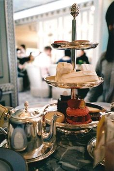 Heaven on a tiered cake stand.