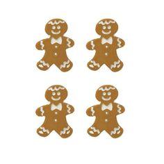 Botão Natal ginger para artesanato, patchwork, scrapbook, roupas.Composição: Plástico.