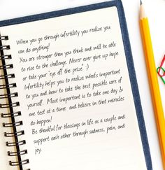 When you go through #infertility you realize you can do anything!