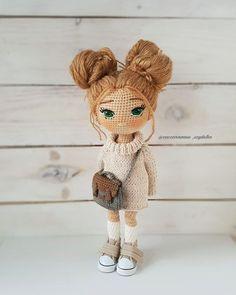 Mesmerizing Crochet an Amigurumi Rabbit Ideas. Lovely Crochet an Amigurumi Rabbit Ideas. Crochet Amigurumi Free Patterns, Crochet Doll Pattern, Crochet Toys, Amigurumi Tutorial, Crochet Fairy, Cute Crochet, Yarn Dolls, Knitted Dolls, Amigurumi Doll