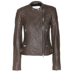 Closed Leather Biker Jacket