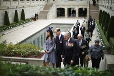 Catherine, Duchess of Cambridge and Prince William, Duke of Cambridge visit the Australia War Memorial