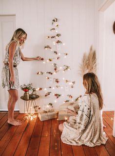 DIY: Fairy Light Xmas Tree – Spell & the Gypsy Collective