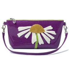 Daisy Wristlet Purple now featured on Fab. http://www.glittersweetstudio.com/shop/
